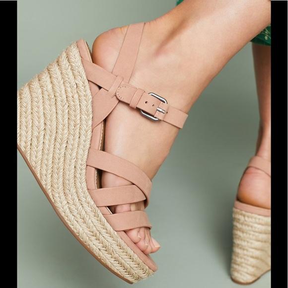 693b51100ba6 ANTHRO Splendid Billie Espadrille Wedge Sandals